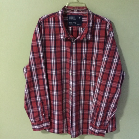 a3d468a93c34 American Eagle Outfitters Other - Men's American Eagle button front shirt  XXXL